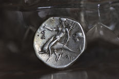 Ancient Greece – Taranto, 272-235 B.C. AR Nomos.