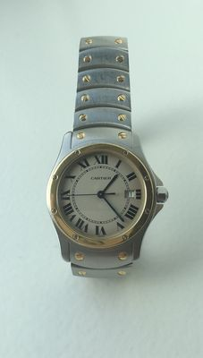 Cartier Santos Ronde Model 1551 - Unisex watch