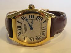 Cartier Tortue - men's wristwatch . Circa 2005