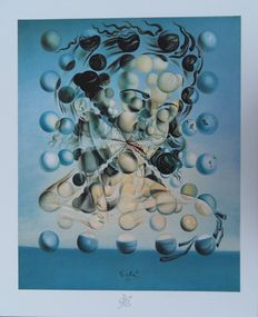 """Salvador Dali (after) - """"Galatea aux Spheres"""" (Galatea with Spheres)"""