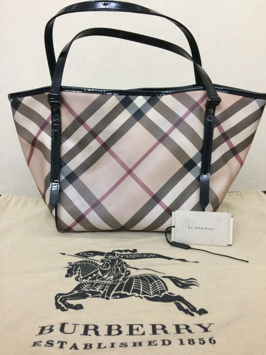 Burberry – New small Canterbury tote bag – Shoulder shopping bag ... 2d4d20577ed10