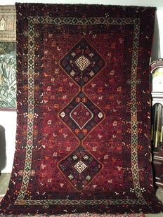 Persian carpet Kaskay - 100% hand-woven - in perfect condition!