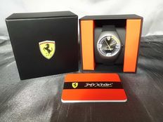 Ferrari Pit Stop, black, men's watch