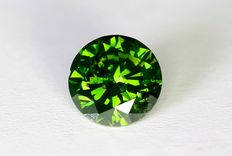 Green Diamond, 0.54 ct
