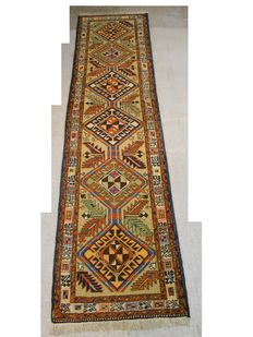 Extraordinary Persian carpet, 292 x 76 cm, end of the 20th century, in good condition
