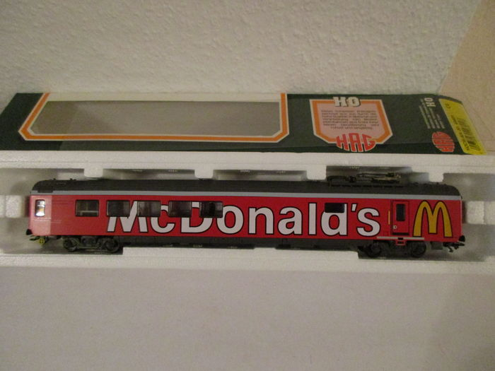 HAG H0 - 498 - Passenger carriage - Restaurant car McDonald's - SBB-CFF
