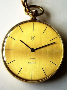 Rochemont – Unisex gold pocket watch – 1980