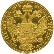Austria – Ducat 1915, official re-strike – gold