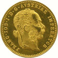 Austria – Ducat 1915 (official re-strike) – gold