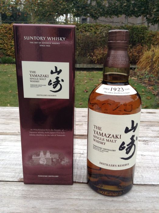 Yamazaki Distiller's Reserve, Single Malt Whisky from the Suntory Company