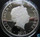 "Niue 2 dollars 2015 (PROOF) ""The Colosseum Rome"""