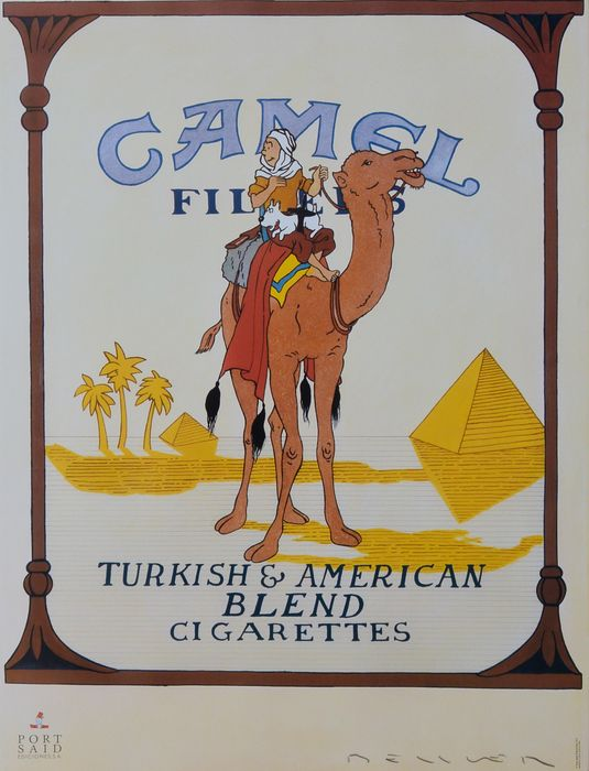 Fernando Bellver -  TinTin Camel packet of cigarettes - 2007