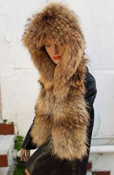 Hood/Hat made out of murmansky fur.