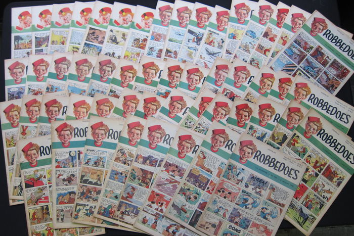 Robbedoes weekblad voor de jeugd - 11th year - complete year 1949