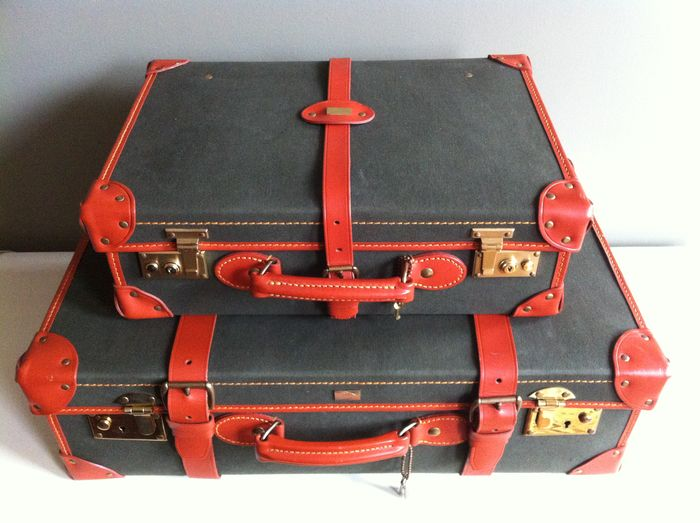 Suitcase set - Jaguar - made by Swaine Adeney Papworth - Catawiki 3da7f9b2b