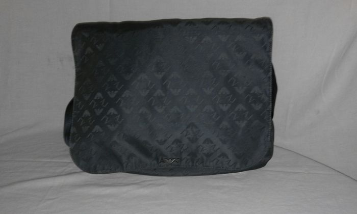 13143dd9579f Two bags – Armani jeans shoulder bag Carpisa with handles or ...