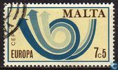 Postage Stamps - Malta - Europe – Post Horn