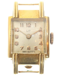 Vintage LIP Frech gold ladies' watch from the fifties