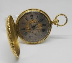 Bennett & Sherwood London pocket watch, circa 1850