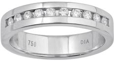 No reserve price, brand new 0.25ct round brilliant eternity band with round diamonds. G/H colour and SI clarity, size 54/17.1 mm (free resizing in Antwerp)