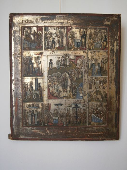 Antique Russian icon - 19th century