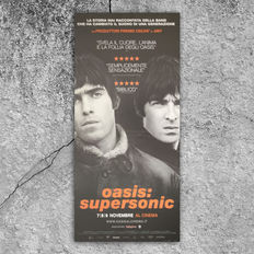 Original Movie Poster Oasis Supersonic - Size: 33x70 CM