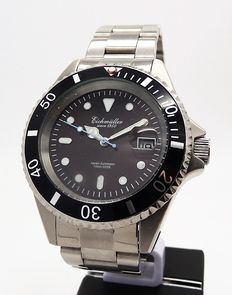Eichmüller Submariner diver's watch – men's wristwatch – approx. 2015 never worn
