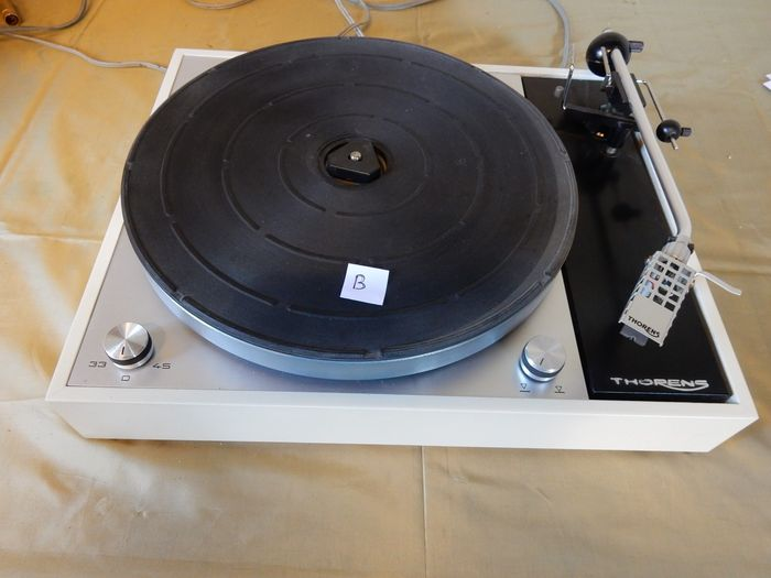 Thorens TD 150 MKII checked, new drive belt and pickering cartridge -  Catawiki