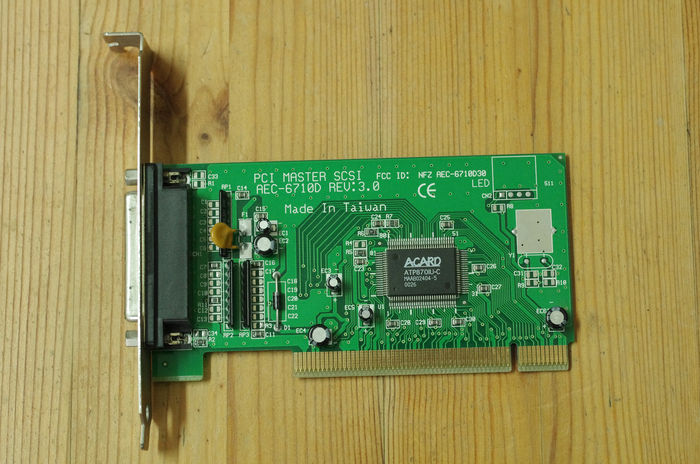 ACER ACARD AEC-6710D PCI SCSI CONTROLLER DRIVERS DOWNLOAD (2019)