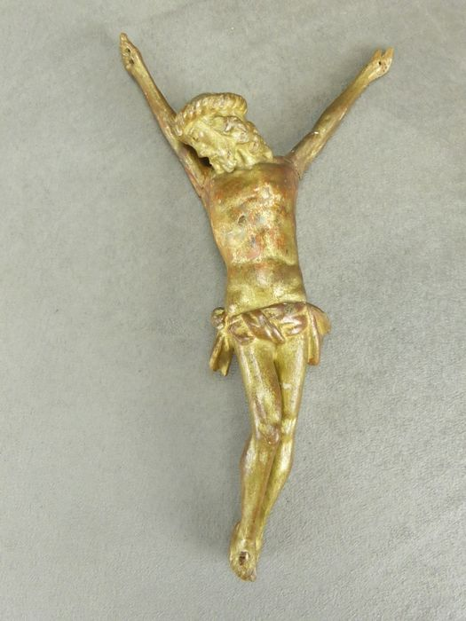 CHRIST in carved gilded wood, XVIIIth.