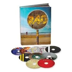 "Rush  10 DVD Box Set  ""R 40"" Including 2 Hours Of Unreleased Footage !!  -  Still Sealed !!"