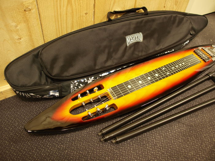 New Mahalo Lapsteel Guitar With Steel Strings Surfboard