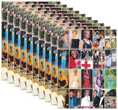 Theme, Lady Diana 1997 - Batch of 200 blocks Niger