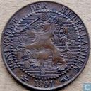 Coins - the Netherlands - Netherlands 1 cent 1901 (G)