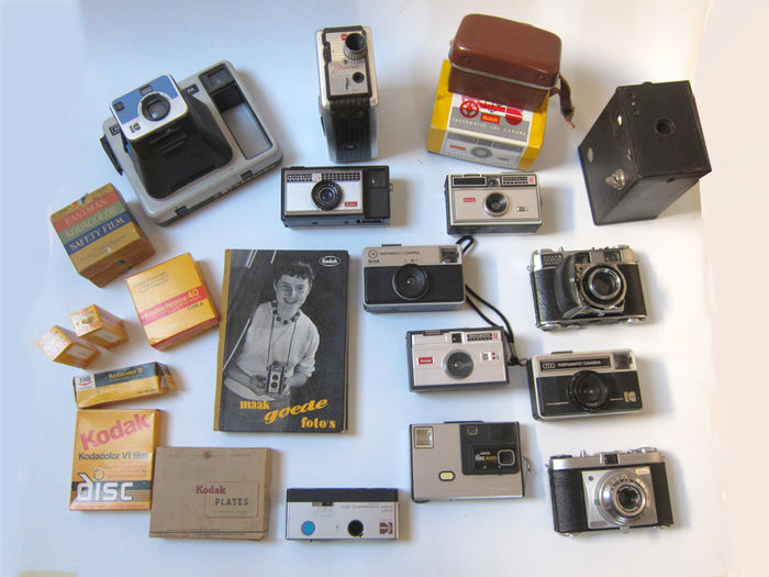 Collection of Kodak cameras and accessories - Catawiki