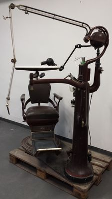 Ritter - antique dentist treatment chair - Germany - around 1920