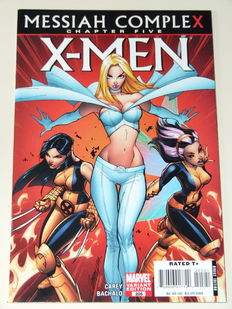 Marvel Comics - X-Men #205 - 1st appearance Hope Summers -  Variant B - J. Scott Campbell 1:20 variant - 1x SC - (2007)