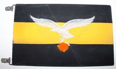 Rare Luftwaffe Flight units/Recce Car Pennant - WW2