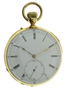 Impressive pocket watch from Ch. Oudin - Paris 1870