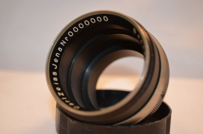 UNIQUE no: 0000000 Carl Zeiss Jena Sonnar 1:2 5cm prototype without lenses
