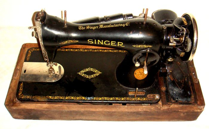 Ancient Singer Sewing Machine Model 40 Of 40 Catawiki New 1935 Singer Sewing Machine