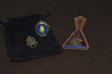 Ring, Finger Ring, Legionnaire's Ring, French Foreign Legion, and a Very Rare Insignia