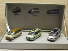 Universal Hobbies - Scale 1/43 - Set with 3 models: 20 year Renault Espace