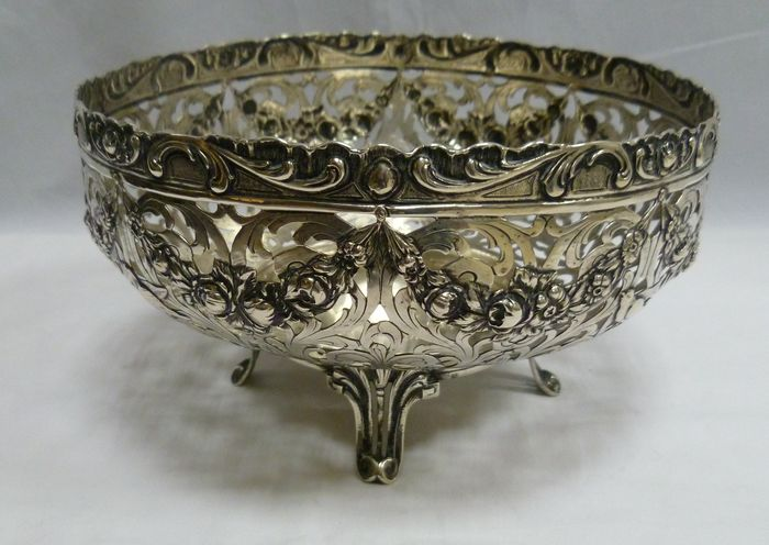Silver centrepiece, Germany, early 20th century