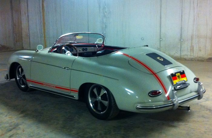 porsche 356 speedster replica 1957 catawiki. Black Bedroom Furniture Sets. Home Design Ideas