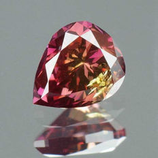 Diamonds - 0.23 ct Pink low reserve price