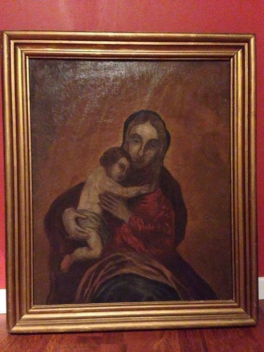 Oil on canvas – Virgin with Child XV-XVI