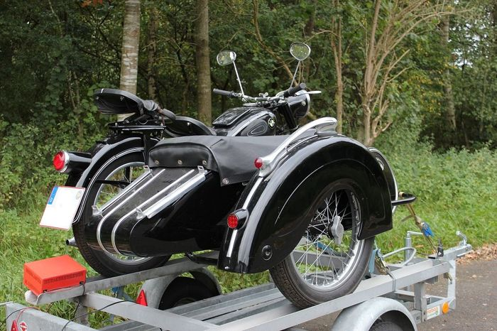 bmw r 25 2 with steib ls 200 1953 catawiki. Black Bedroom Furniture Sets. Home Design Ideas