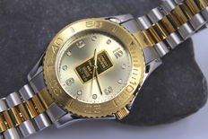 Credit Suisse – Men's - Gold Ingot - Watch – unworn