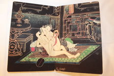 Oriental erotica; Chinese pillow- book - 1960